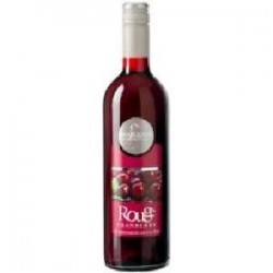Vin Rouge Aromatisé au Cranberry