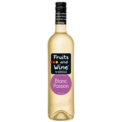 Vin Blanc Aromatisé Passion FRUITS AND WINE BY MONCIGALE