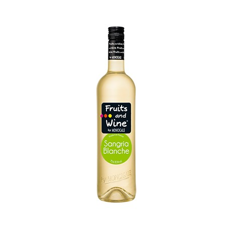 Vin Blanc Aromatisé Sangria Blanche FRUITS AND WINE BY MONCIGALE