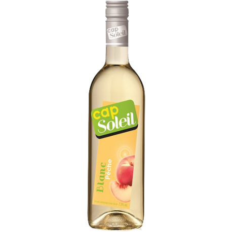 Vin Blanc Aromatisé Saveur Pêche