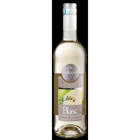 Vin Blanc Aromatisé au Poire Génépi Marquise Drôme Provençale d'Eyguebelle