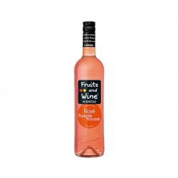 Vin Rosé Aromatisé Pamplemousse Bio FRUITS AND WINE BY MONCIGALE