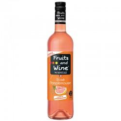 Vin Rosé Aromatisé Pamplemousse