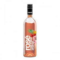 Vin Aromatisé NOIROT Saveur Vin Rosé Fraise Ananas