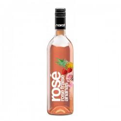 Vin Rosé Aromatisé Saveur Fraise Ananas