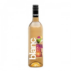 Vin Blanc Aromatisé Saveur Piña Colada