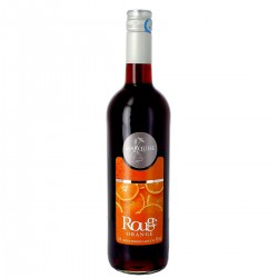 Vin Rouge Aromatisé à l'Orange