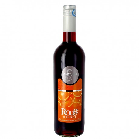Vin Rouge Aromatisé à l'Orange Marquise Drôme Provençale d'Eyguebelle