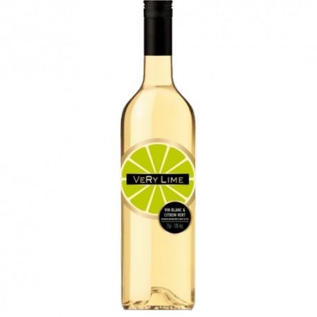 VERY Lime Vin Blanc Aromatisé au Citron Vert