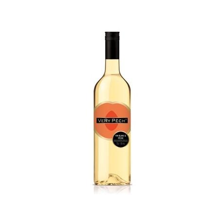VERY Pech' Vin Blanc Aromatisé à la Pêche